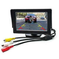 New 4.3 Inch LCD TFT Rearview Rear view Monitor screen for Car Backup Camera US