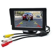 "4.3"" TFT LCD Digital Color Screen Car Backup Rear View Camera DVD GPS TV Monitor"
