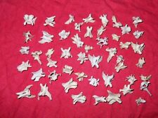 Real Mink Bones beads animal Vertebrae vertebra Skeleton 75 plus pieces jewelry