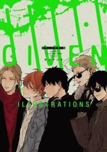 Given Illustrations Natsuki Kizu Anime Manga Art Book NOITAMINA BL Yaoi JP