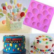 Silicone Balloons Fondant Cake Decorating Sugarcraft Chocolate Mold Baking Tool
