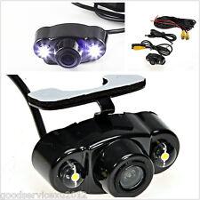 12V 170° Dual LED Night Vision Autos Reverse Backup CMOS Parking HD Mini Camera