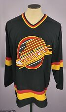 Vintage 90's Starter NHL Vancouver Canucks Throwback Hockey Jersey Men's Size L