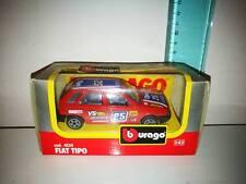 BURAGO COD. 4134 FIAT TIPO  1/43 AUTO MODELLISMO FONDO DI MAGAZZINO