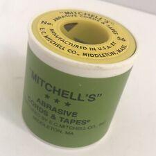 "Mitchell's Abrasive Emery Tape No. 56 1/8"""