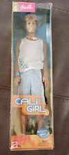 NIB Cali Girl Ken Barbie Doll Suntan Bathing Suit Sun Hair & City Style
