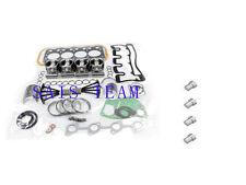 Isuzu 4LE1 Engine Rebuild kit&Nozzles for Hitachi JCB IHI Digger Generator Truck