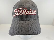 Titleist Footjoy Hat In Grey With Red Trim S/M Used