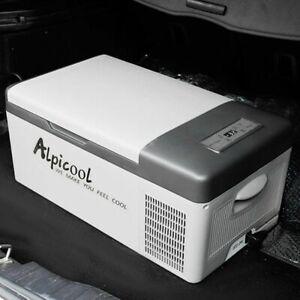 Car Refrigerator Fridge Freezer Portable Cooler Beverage Food Home Picnic Travel