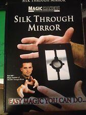 Silk Through Mirror - The Amazing Silk Thru Mirror - Close-up or Stand-up Magic!
