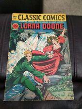 Classic Comics #32 Lorna Doone