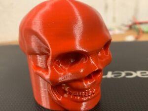 "3D Anhängerkupplung AHK Schutzkappe Abdeckung ""Skull"""