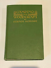 FIrst Edition Camping And Woodcraft by Horace Kephart 1917 Vol 2 very rare