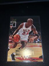 1995-96 Ultra #25 Michael Jordan  BULLS CARD -2