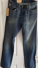 RALF LAUREN Slouch Jeans W 31 L 34 Nuovo con etichette