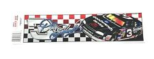 Vintage 90's Dale Earnhardt Sr #3 Nascar Racing Bumper Sticker Decal Made in USA