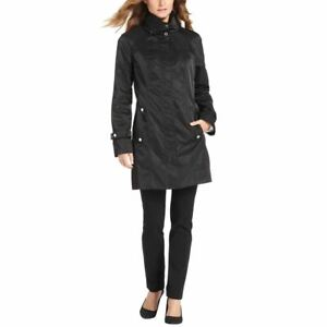 CALVIN KLEIN Women's Packable Hooded Anorak Windbreaker Jacket Top TEDO