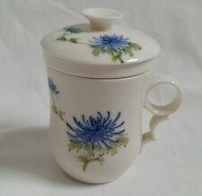 ❀ڿڰۣ❀  ORIENTAL JAPANESE Inspired Design China TEA INFUSER MUG  New  ❀ڿڰۣ❀ SALE