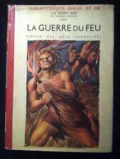 J.-H. Rosny Aîné: La guerre du feu/ Editions G.P., Rouge & Or, 1957
