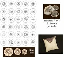 Amazing Designs Embroidery Machine Designs CD - EMBROIDERED BUTTON COVERS