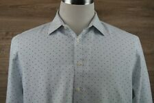 Black Label by Ruffini Italy, Men's M 16-16 1/2 Slim Fit, long sleeve shirt~SOFT