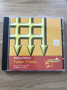 Channel 4 Seeing History Tudor Times Cd Rom Tv-ROM Pc Or Mac