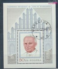 Poland block76 fine used / cancelled 1979 Pope Johannes Paul II. (7977076