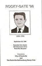 #3104 2nd Day FD Program 23c F. Scott Fitzgerald Stamp
