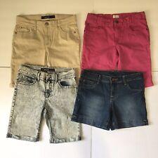 Girls Assorted Bermuda Short Shorts Bundle Lot 4 Size 14