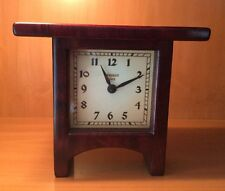 Present Time Mission Arch Handmade Wooden Clock Signed by Jim Dailey 2000