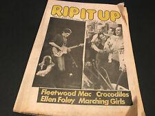 NEW ZEALAND MUSIC MAGAZINE FLEETWOOD MAC THE CROCODILES (THE CURE ADS) 1980