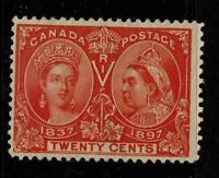 Canada SC# 59, Used - S10809