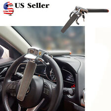 Car Steering Wheel Anti-theft Three-direction Security  Lock With Safety Hammer