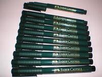 10x Faber-Castell Finepen 1511 schwarz 0,4mm Tinte dokumentenecht 151199 NEU