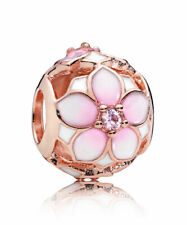 PANDORA Magnolia Bloom Charm Rose Gold  782087NBP New Authentic ALE R