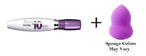 Maybelline Superstay 10 hour Stain Gloss Luxurious Lilac 0.35 oz + Makeup Sponge