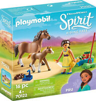 Playmobil Spirit Riding Free - Pru w/ Horse & Foal 70122 (for Kids 4 and up)