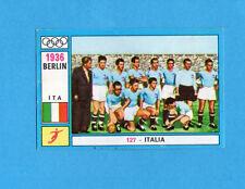 OLYMPIA-1972-PANINI-Figurina DA INCOLLARE! n.127-ITALIA  CALCIO BERLINO 1936-Rec