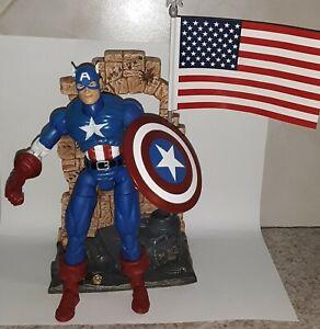 Marvel Legends CAPTIN AMERICA - Series 1 Toy Biz - loose & complete