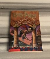 SHIPS SAME DAY Harry Potter and the Sorcerer's Stone Scholastic Paperback 1st Ed