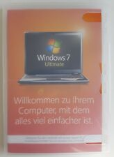Microsoft Windows 7 Ultimate 64 Bit System Builder Vollversion Deutsch