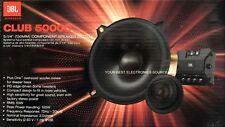 "NEW JBL CLUB5000C Club Series 5-1/4"" Component Car Audio Speakers (1 Pair) 5.25"""