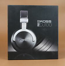 Genuie Koss Pro DJ100 Headband Headphones - Black Brand new original
