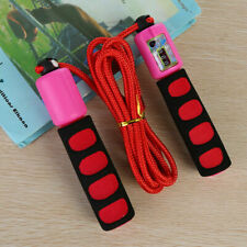 Training Bravose Premium Quality Weighted Leather 9FT Fitness Skipping Rope