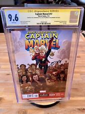 Captain Marvel 17 CGC 9.6 SS 3x 1st Kelly Sue Deconnick App & 2nd Kamala Khan 🏅