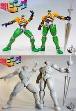 ダブル鋼鉄ジーグ Double Jeeg Robot T.O.P - resin kit NEW !