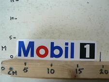 STICKER,DECAL MOBIL 1 LOGO OIL GAS BENZINE ? 2O CM