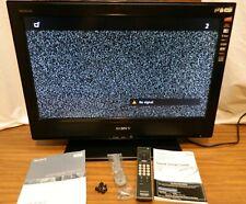 "Sony Bravia LCD 26"" Flatscreen TV Model: (KDL-26S3000) with Remote & Manuals"
