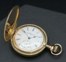ANTIQUE ELGIN DBL HUNTER POCKET WATCH APRX 1904 SER #10190941 Grade 269, 0 size