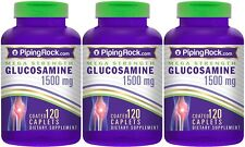 MEGA GLUCOSAMINE 1500MG JOINT CARTILAGE CONNECTIVE TISSUE SUPPLEMENT 360 CAPLETS